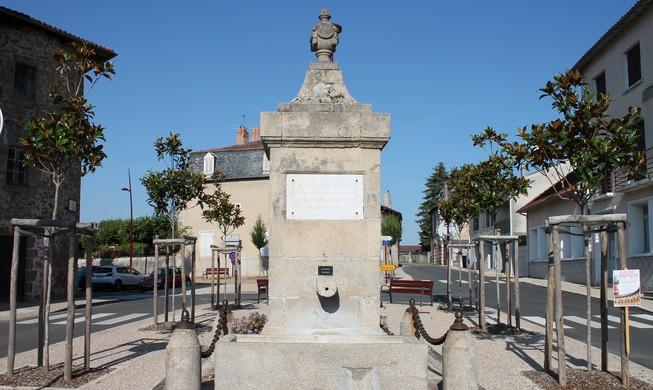 Fontaine Place Octave Marquet