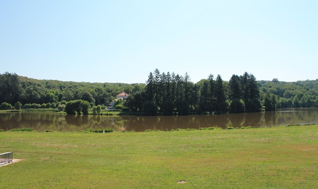 Plan d'eau de Boischenu